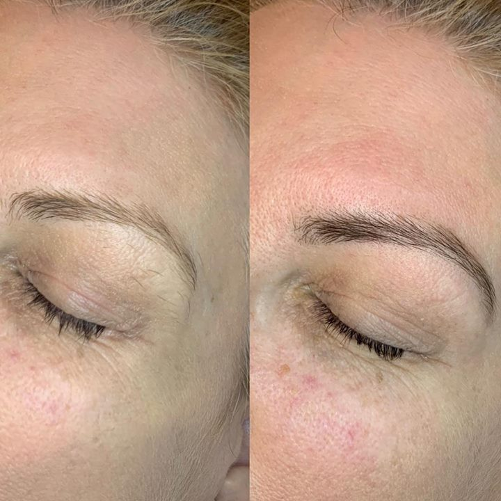 Tinting Brows Gives Definition Browfashion Eyebrows