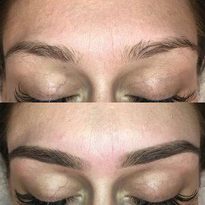 Face wax-tinting